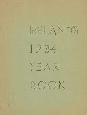 Ireland's Year Book 1934 by Laurie Ireland