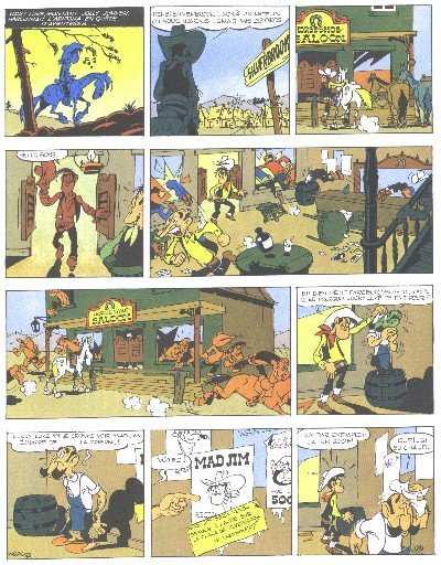 Lucky Luke looks like Mad Jim.