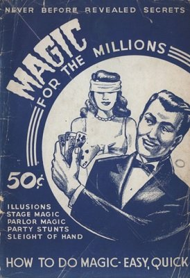 Magic For the Millions (used) by Unknown Author