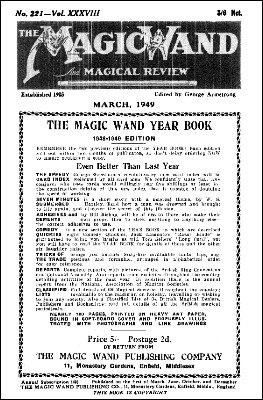The Magic Wand Volume 38 (1949) by George Armstrong