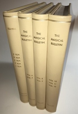 Magical Bulletin all 13 Volumes (1914 - 1948) (used) by Louis F. Christianer & Floyd Gerald Thayer