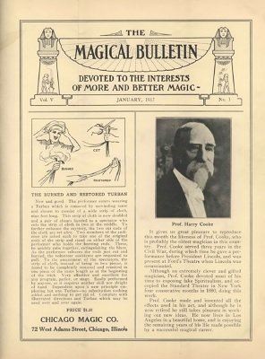 Magical Bulletin Volume 5 (1917) by Floyd Gerald Thayer