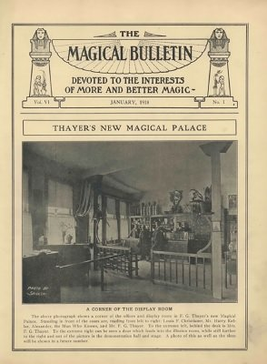 Magical Bulletin Volume 6 (1918) by Floyd Gerald Thayer