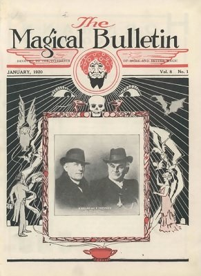 Magical Bulletin Volume 8 (1920) by Floyd Gerald Thayer