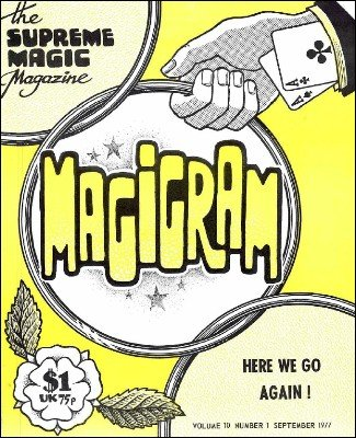 Magigram Volume 10 (Sep 1977 - Aug 1978) by Supreme-Magic-Company