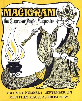 Magigram Volume 4 (Sep 1971 - Aug 1972) by Supreme-Magic-Company