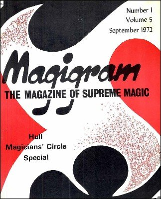 Magigram Volume 5 (Sep 1972 - Aug 1973) by Supreme-Magic-Company