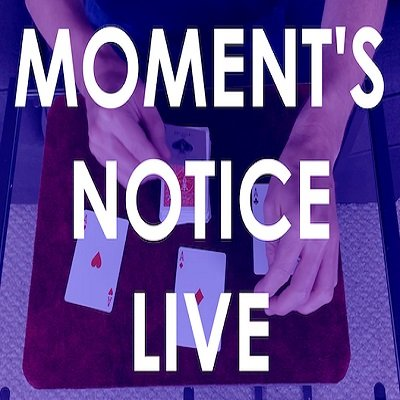Moment's Notice Live by Cameron Francis