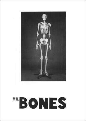 Mr. Bones: Miracle Thought of Card by Brick Tilley