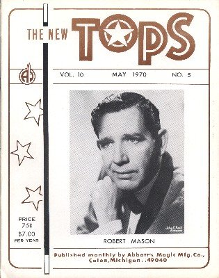 New Tops May 1970 (used) by Percy Abbott