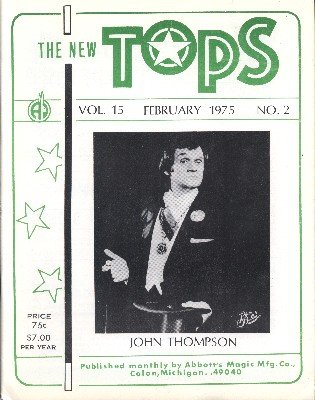 New Tops February 1975 (used) by Percy Abbott