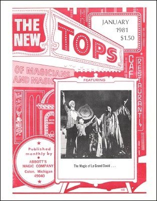 New Tops Volume 21 (1981) by Gordon Miller