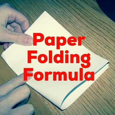 Paper Folding Formula by Dave Arch