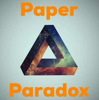 Paper Paradox by Dave Arch