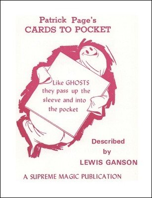 Patrick Page's Cards to Pocket (used) by Lewis Ganson