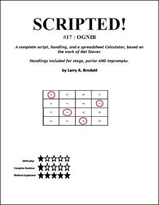 Scripted #17: Ognib by Larry Brodahl
