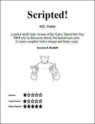Scripted #32: Teddy by Larry Brodahl