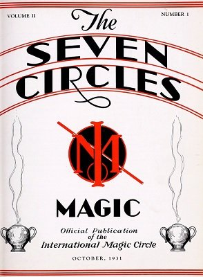 Seven Circles Volume 2 (October 1931 - March 1932) by Walter Gibson