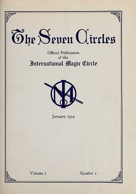 Seven Circles Volume 5 (January 1934 - June 1934) by Walter Gibson