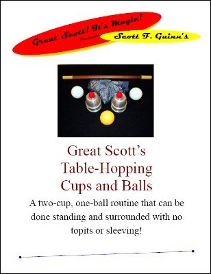 Table-Hopping Cups and Balls by Scott F. Guinn