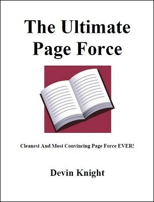 The Ultimate Page Force by Devin Knight